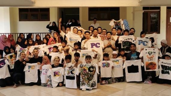 Celebrating PC's Fourth Anniversary.