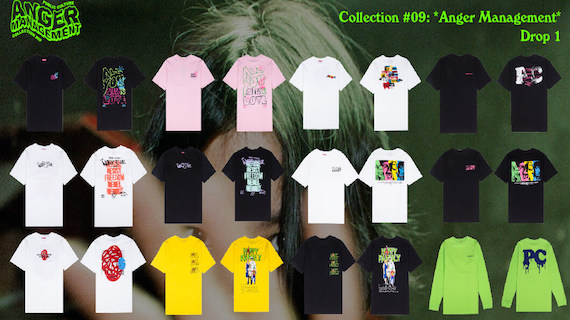Collection #09: Anger Management DROP 1 Full Line-up.