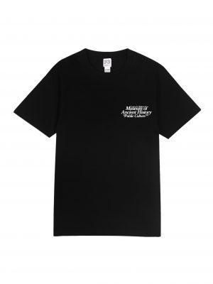 MUSEUM TEE – BLACK (FRONT)