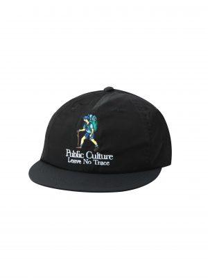 NO TRACE CAP – BLACK (FRONT)