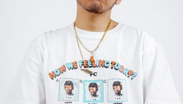 'How We Feeling Today?', A Public Culture and Basboi Collaboration T-Shirt