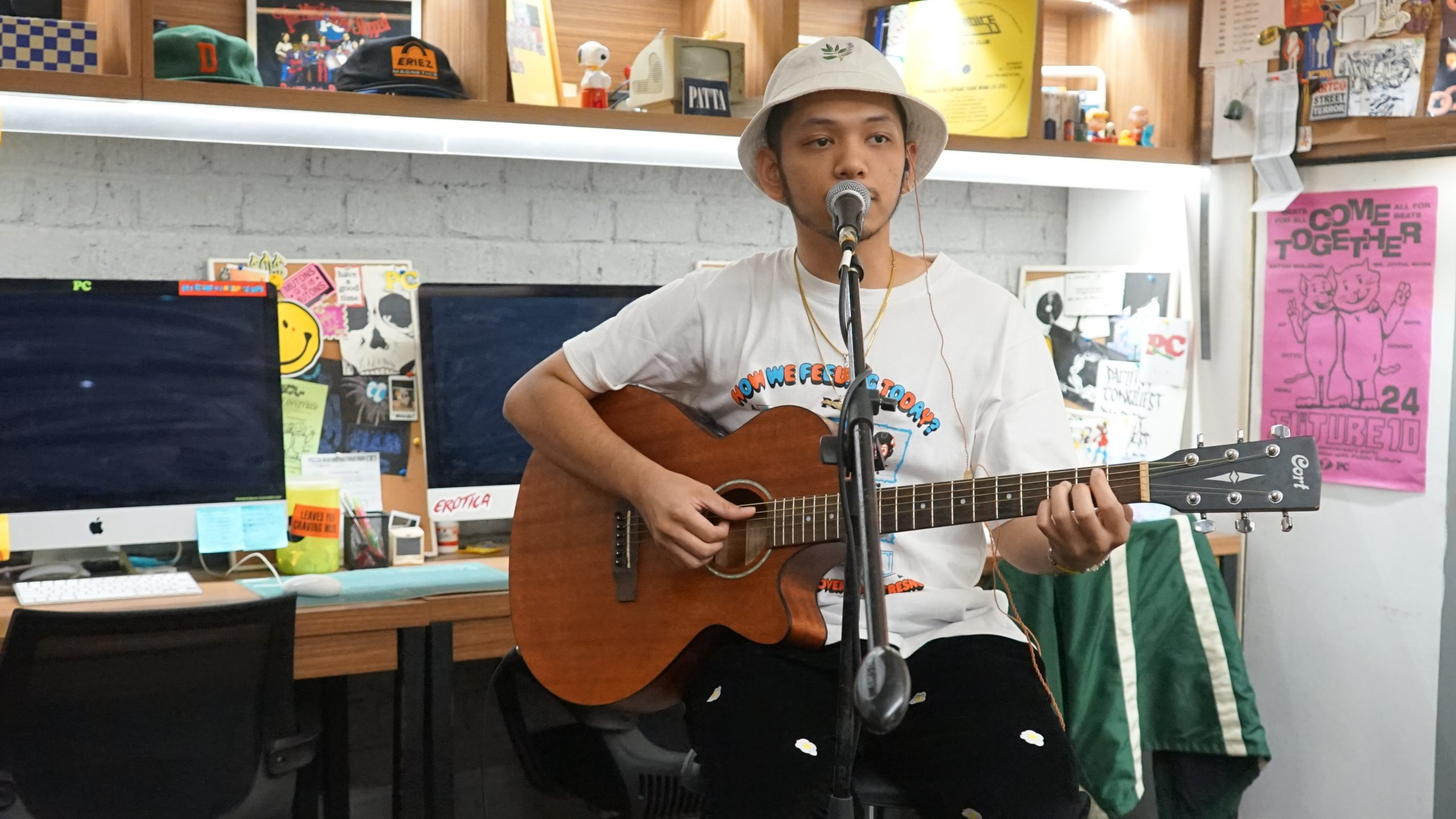 PC/TV's LIVE AT KMI: Basboi